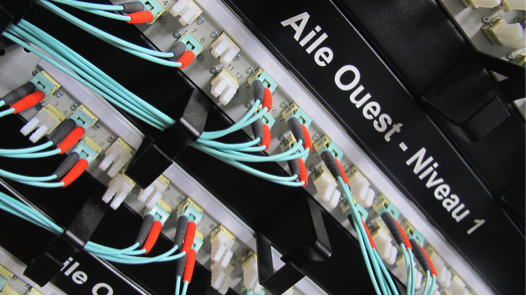 Infrastructure fibre optique